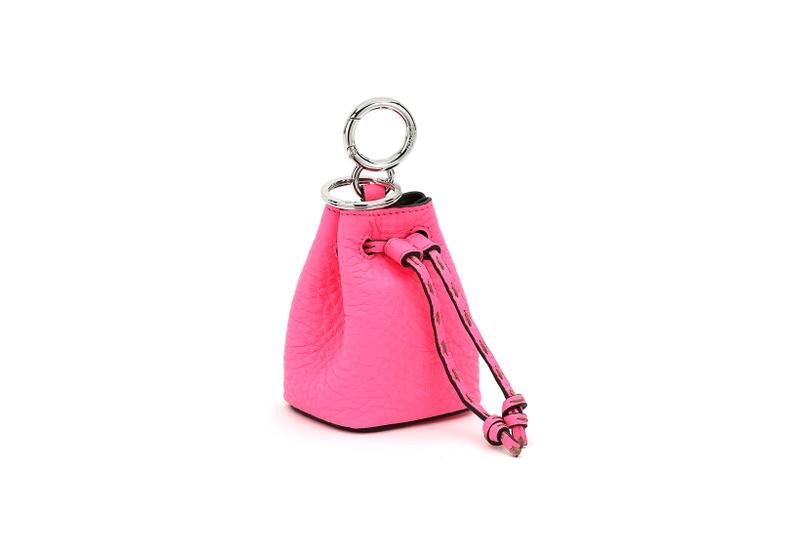 Fendi Roma Amour Capsule Collection Mini Keychain Pink