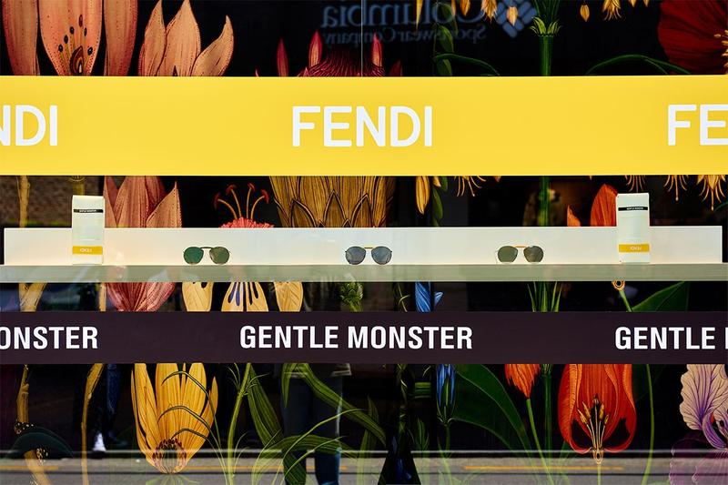 Gentle Monster x Fendi Capsule Collection Pop Up Seoul
