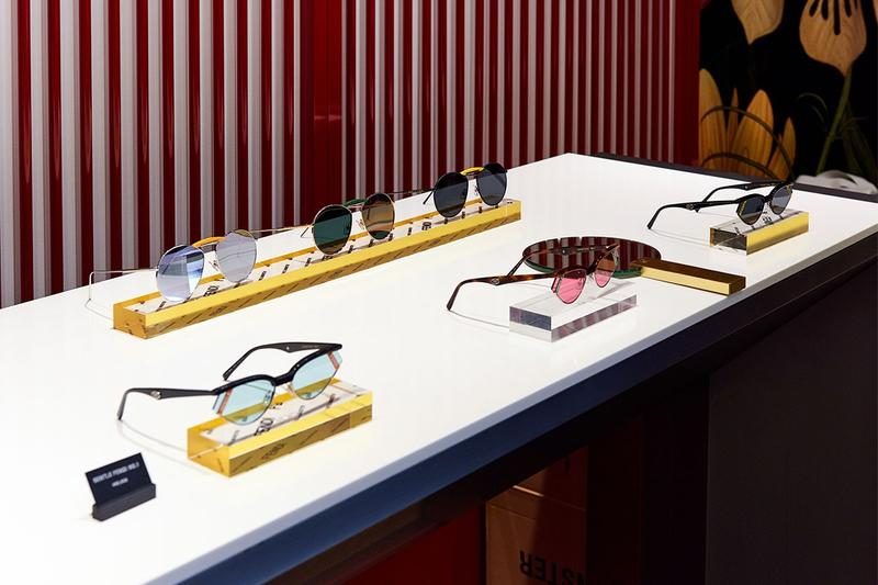 Gentle Monster x Fendi Capsule Collection Pop Up Seoul Sunglasses No. 1 2