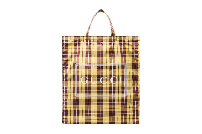 Gucci Shopper Tote Bags Floral Check Patterns Black Pink Logo