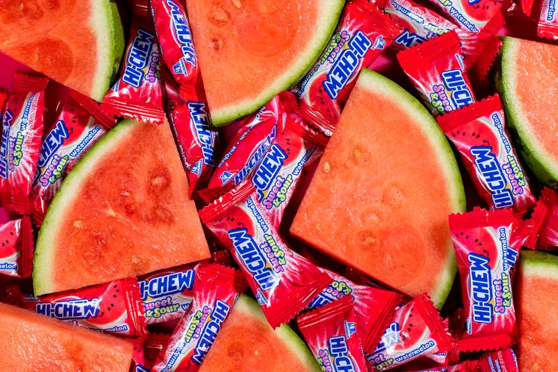 Hi-Chew New Flavor Sweet Sour Melon Lemon Candy Summer Sweet Tropical Grapefruit