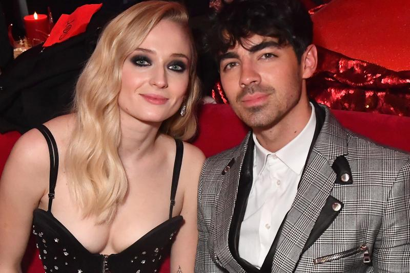 Joe Jonas Sophie Turner Las Vegas Wedding Ceremony Married Elvis Diplo Jonas Brothers Game of Thrones Billboard Music Awards
