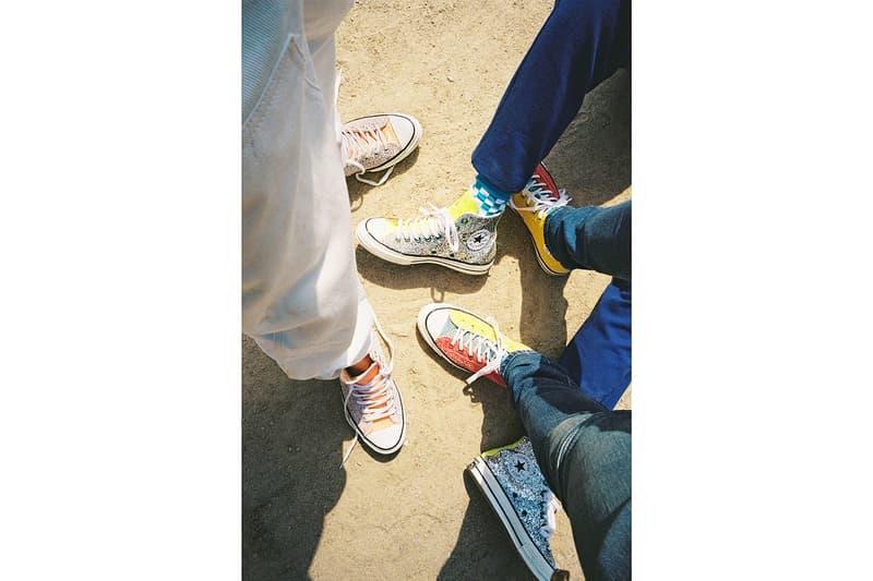 JW Anderson  Converse Glitter Chuck 70 Run Star Hike Collaboration Editorial Ahreum Ahn Model