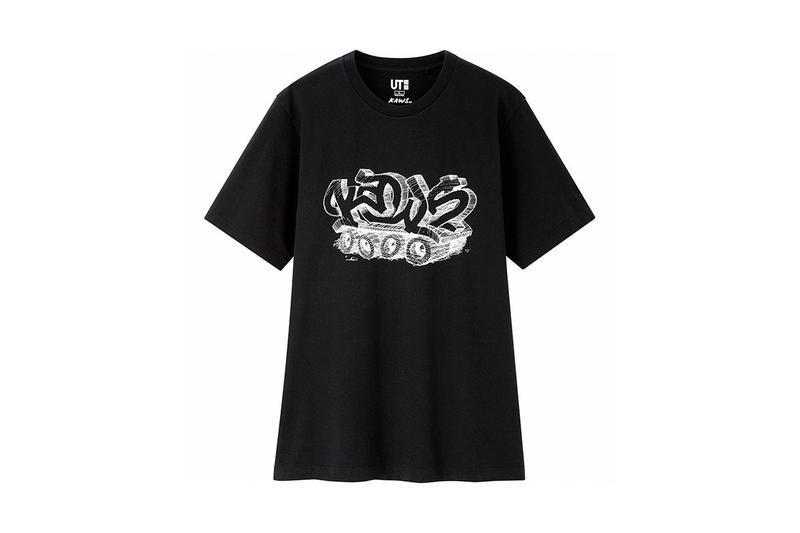 KAWS x Uniqlo UT Companion BFF Collaboration Summer 2019 Pocket T-shirt Black