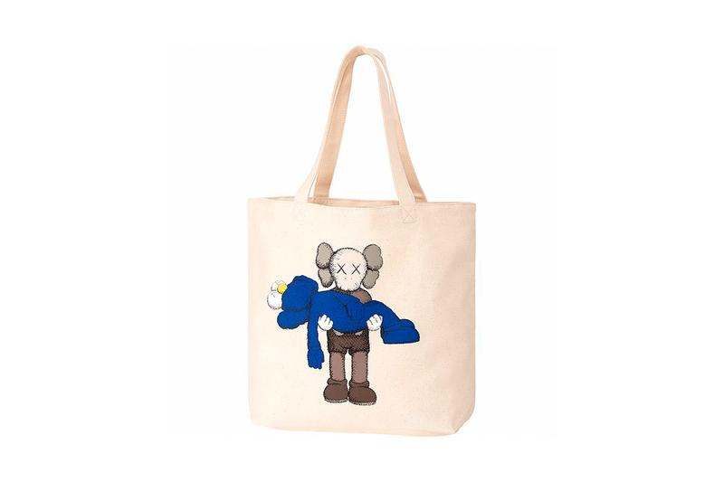 KAWS x Uniqlo UT Companion BFF Collaboration Summer 2019 Bag