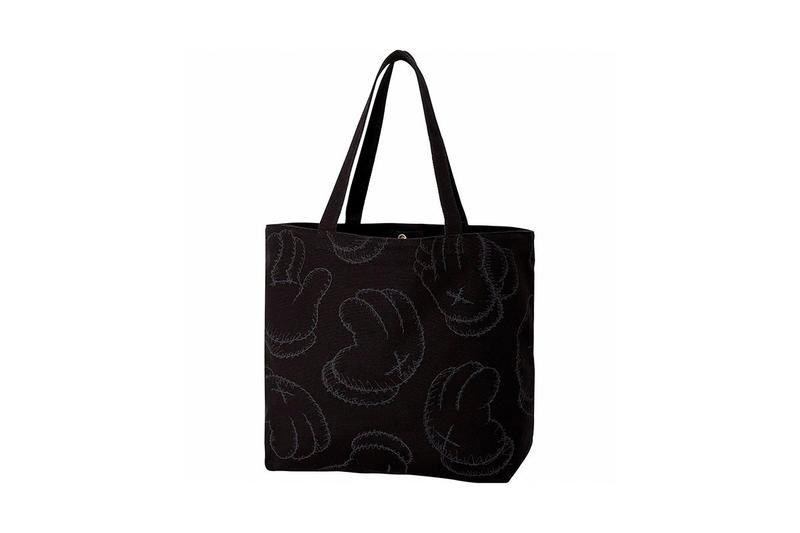 KAWS x Uniqlo UT Companion BFF Collaboration Summer 2019 Bag Black