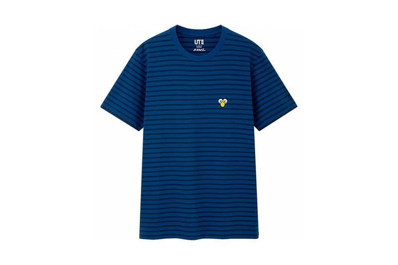 KAWS x Uniqlo UT Companion BFF Collaboration Summer 2019 Pocket T-shirt Blue