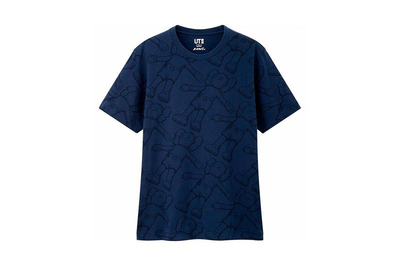 KAWS x Uniqlo UT Companion BFF Collaboration Summer 2019 Pocket T-shirt