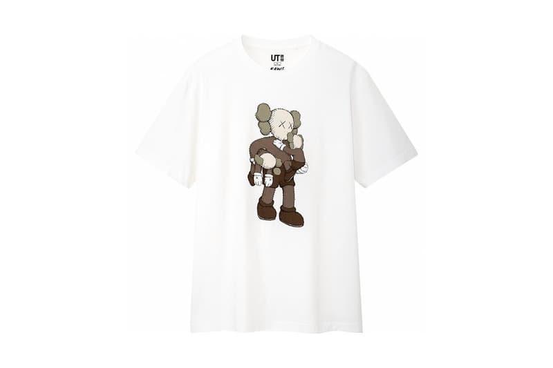 KAWS x Uniqlo UT Companion BFF Collaboration Summer 2019 Pocket T-shirt White