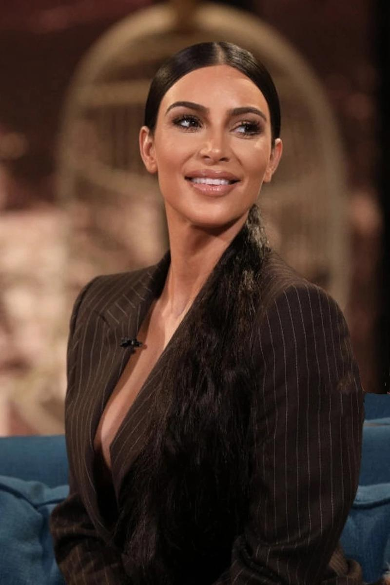 Kim Kardashian Blazer Black
