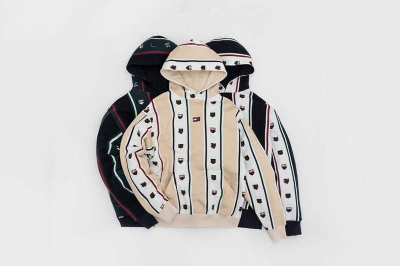 KITH x Tommy Hilifiger Capsule Collection Hoodies Black Tan