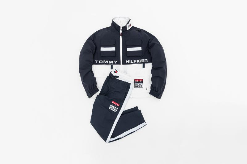 1d4ffd7d KITH x Tommy Hilifiger Capsule Collection Jacket Pants White Blue
