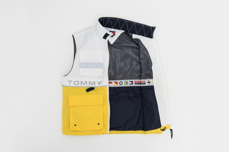 KITH x Tommy Hilifiger Capsule Collection Vest White Yellow Blue