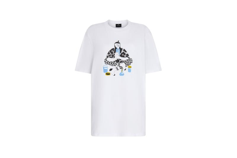 Lazy Oaf Mental Health Awareness Collection T Shirt White