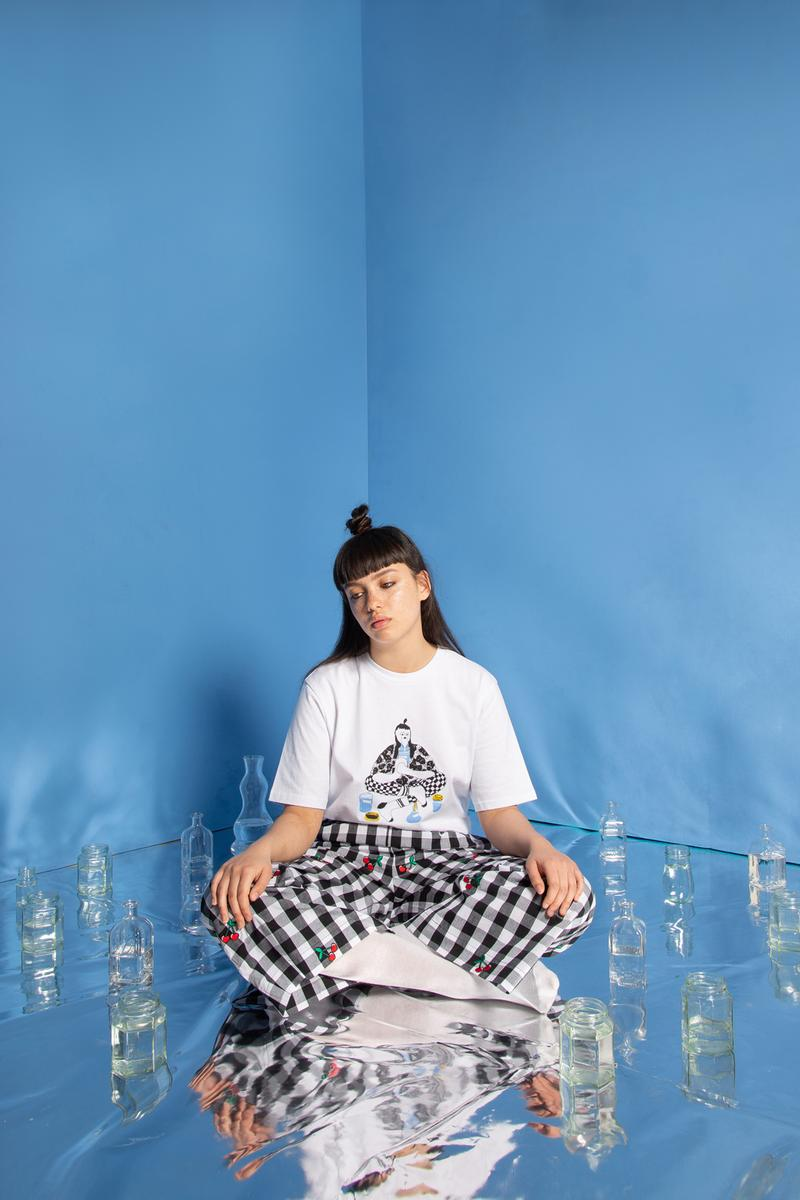 Lazy Oaf Mental Health Awareness Campaign Collection T Shirt White