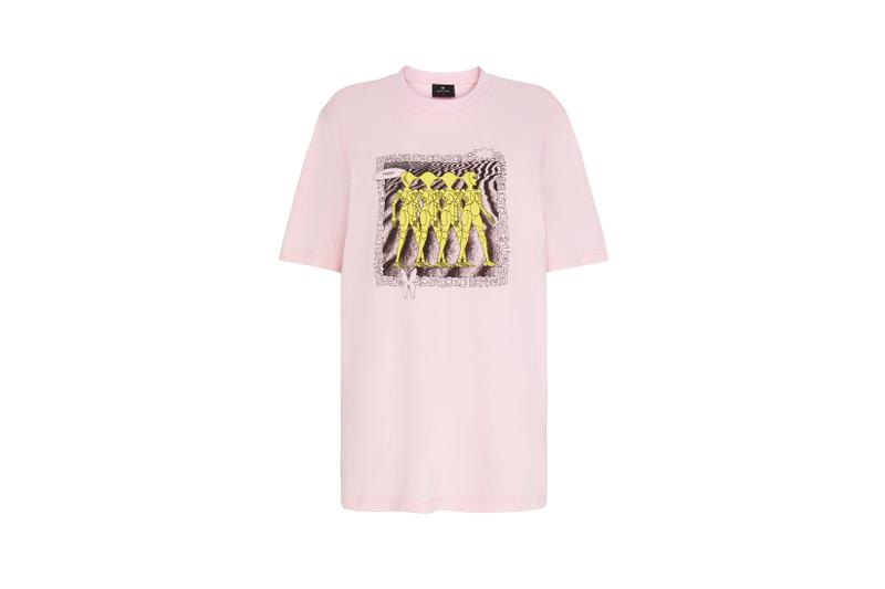 Lazy Oaf Mental Health Awareness Collection T Shirt Pink