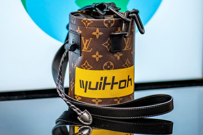 aa66dbd2217d Louis Vuitton Releases Exclusive Chalk Nano Bag Virgil Abloh Singapore  Exclusive Release Chain Monogram Print Graphic