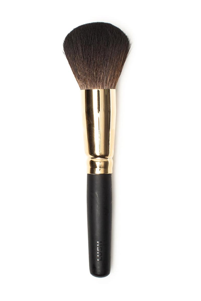 LUSH Vegan Cruelty-Free Makeup Brush Collection Handmade Tools Beauty Blush Bronzer Eyebrow Product