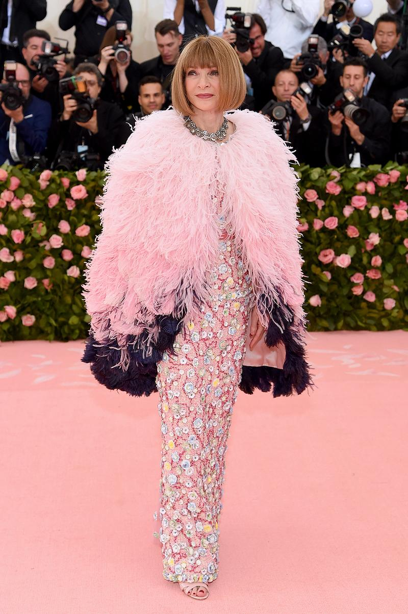 Anna Wintour Vogue Met Gala 2019 Red Carpet Camp Notes on Fashion