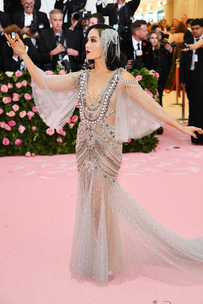 Constance Wu Met Gala 2019 Red Carpet Camp Notes on Fashion Dress