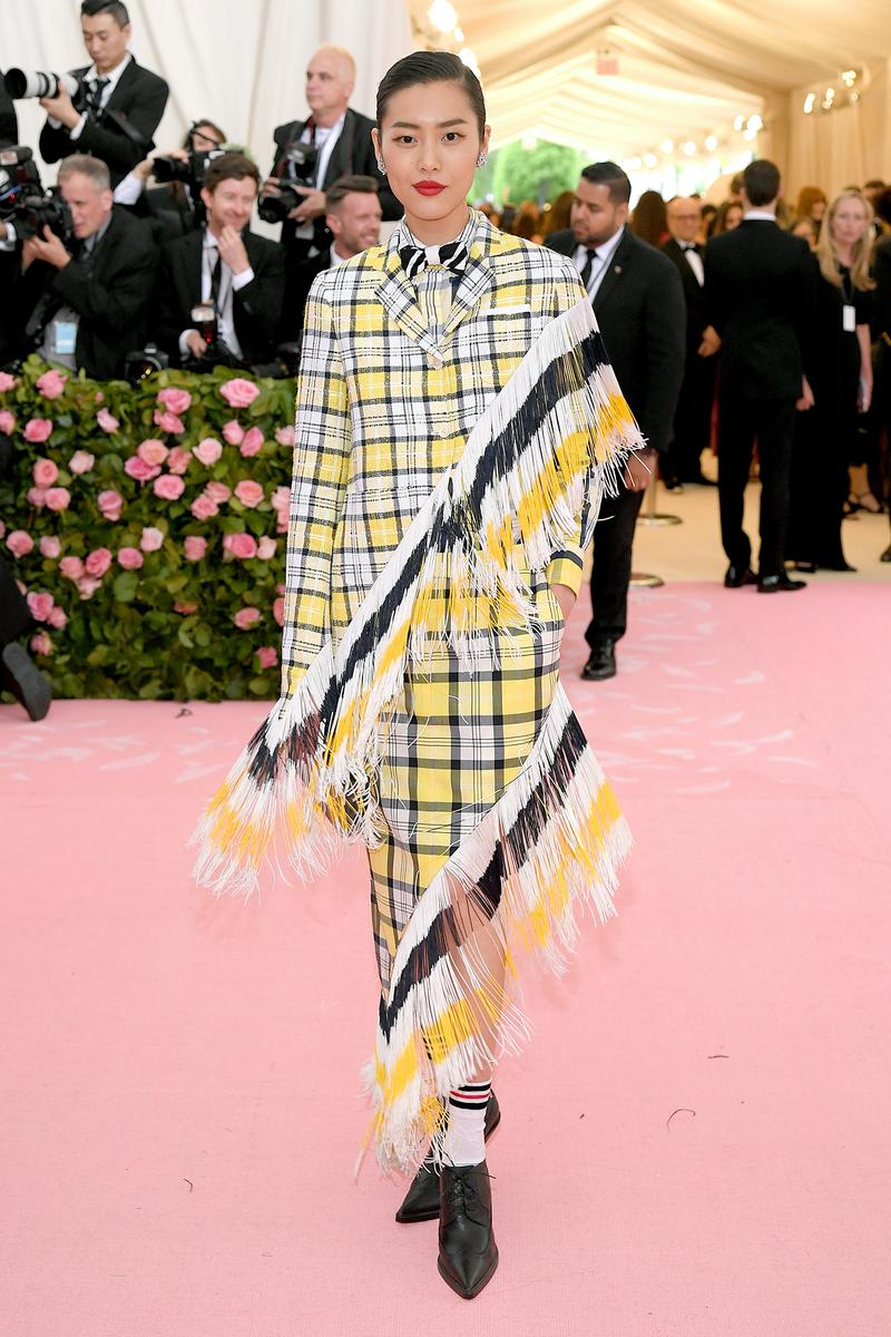 Liu Wen Supermodel Chinese Model Met Gala 2019 Red Carpet Camp Notes on Fashion