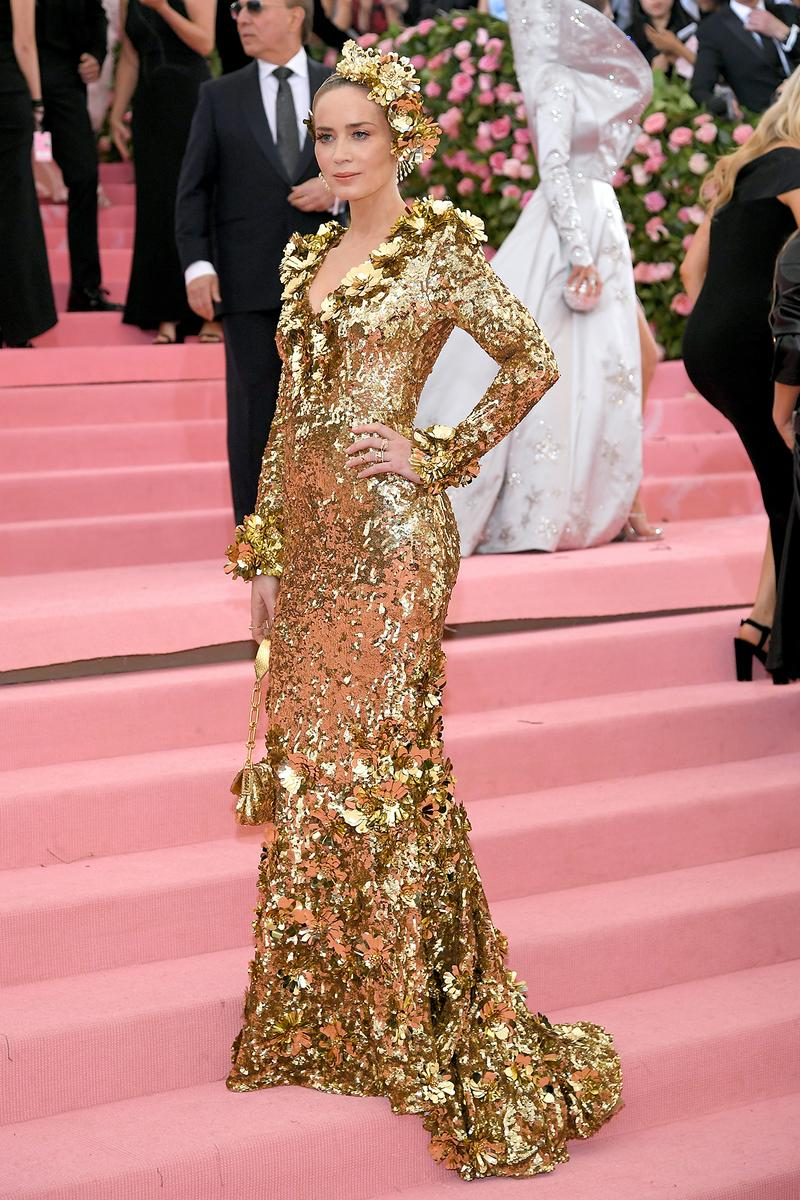 Emily Blunt Met Gala 2019 Red Carpet Camp Notes on Fashion