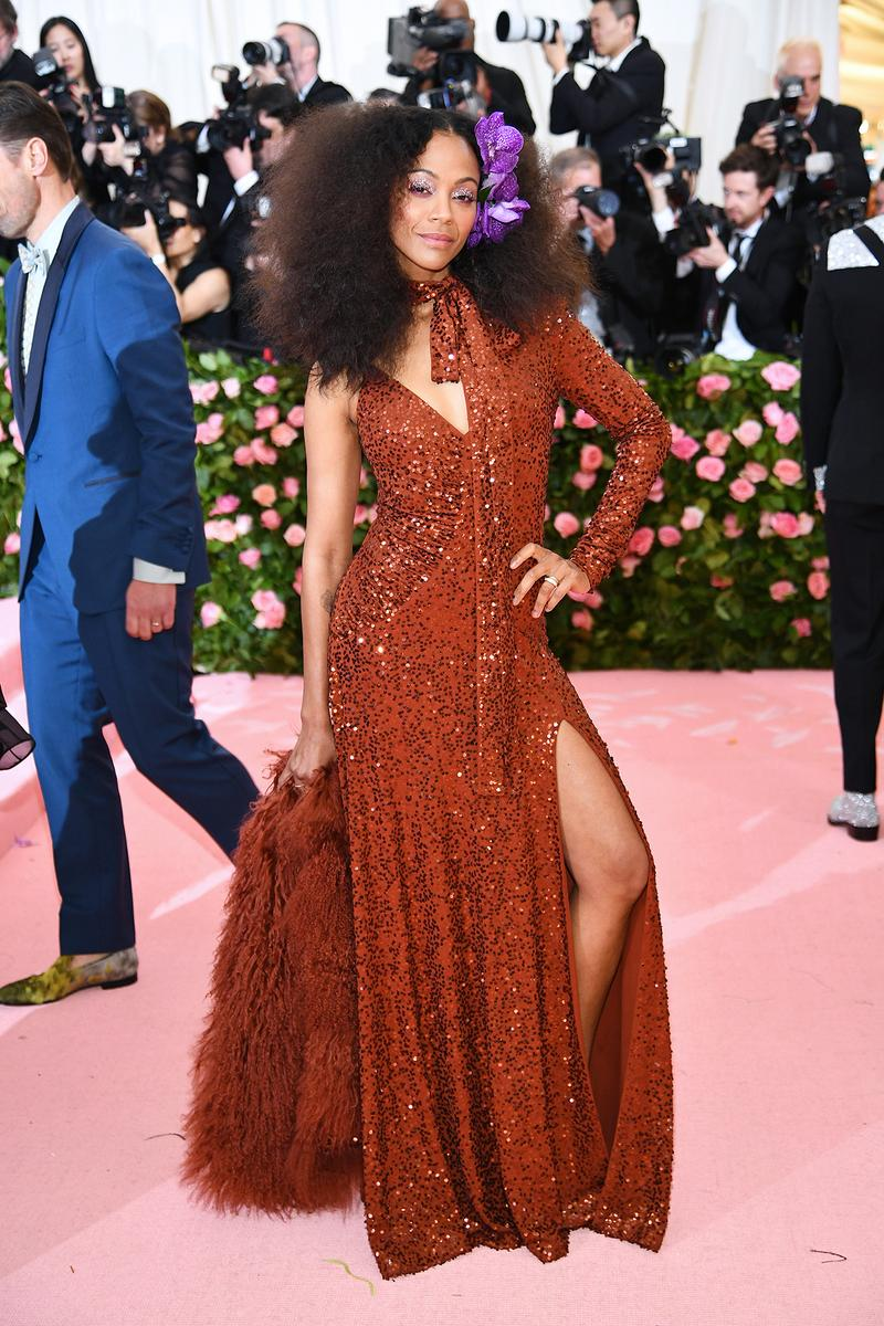 Zoe Saldana Met Gala 2019 Red Carpet Camp Notes on Fashion