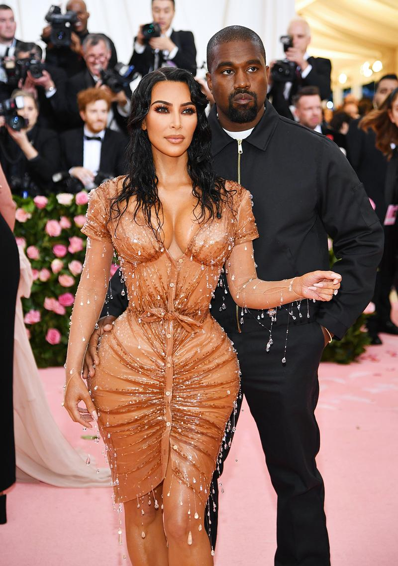 Kim Kardashian West Kanye West Met Gala 2019 Red Carpet Camp Notes on Fashion
