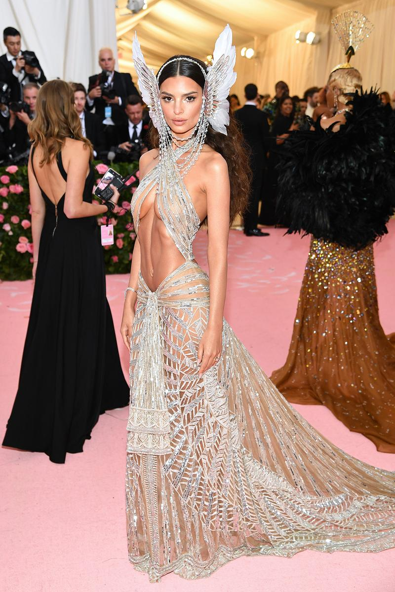 Emily Ratajkowski Met Gala 2019 Red Carpet Camp Notes on Fashion