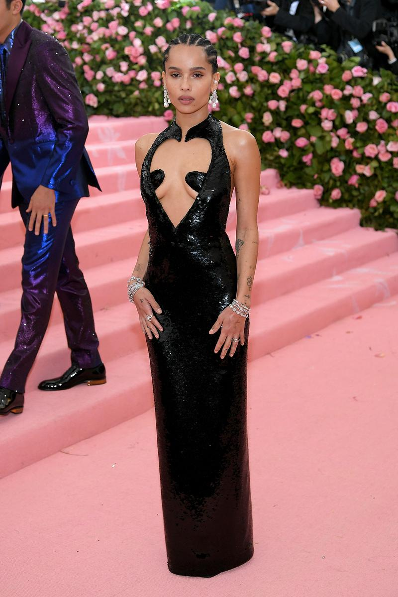 Zoe Kravitz Met Gala 2019 Red Carpet Camp Notes on Fashion