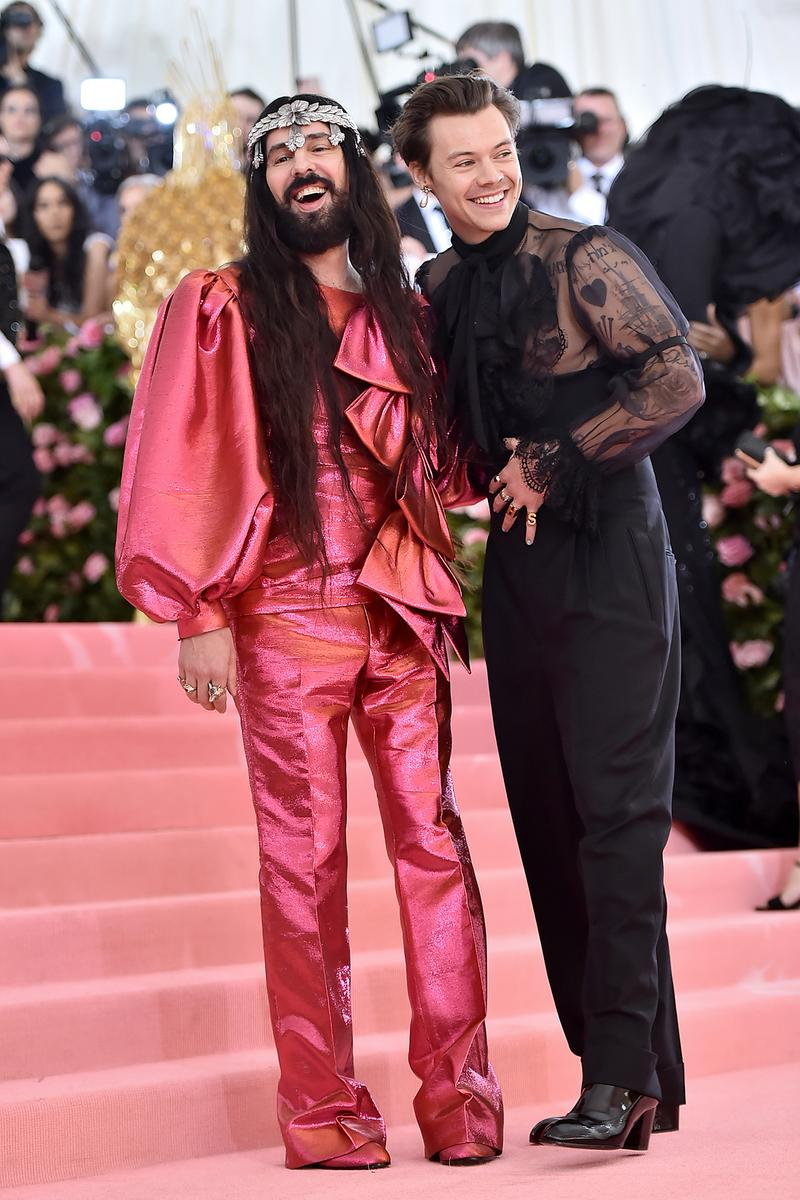 Gucci Alessandro Michele Harry Styles 2019 Met Gala Camp: Notes on Fashion Metropolitan Museum of Art