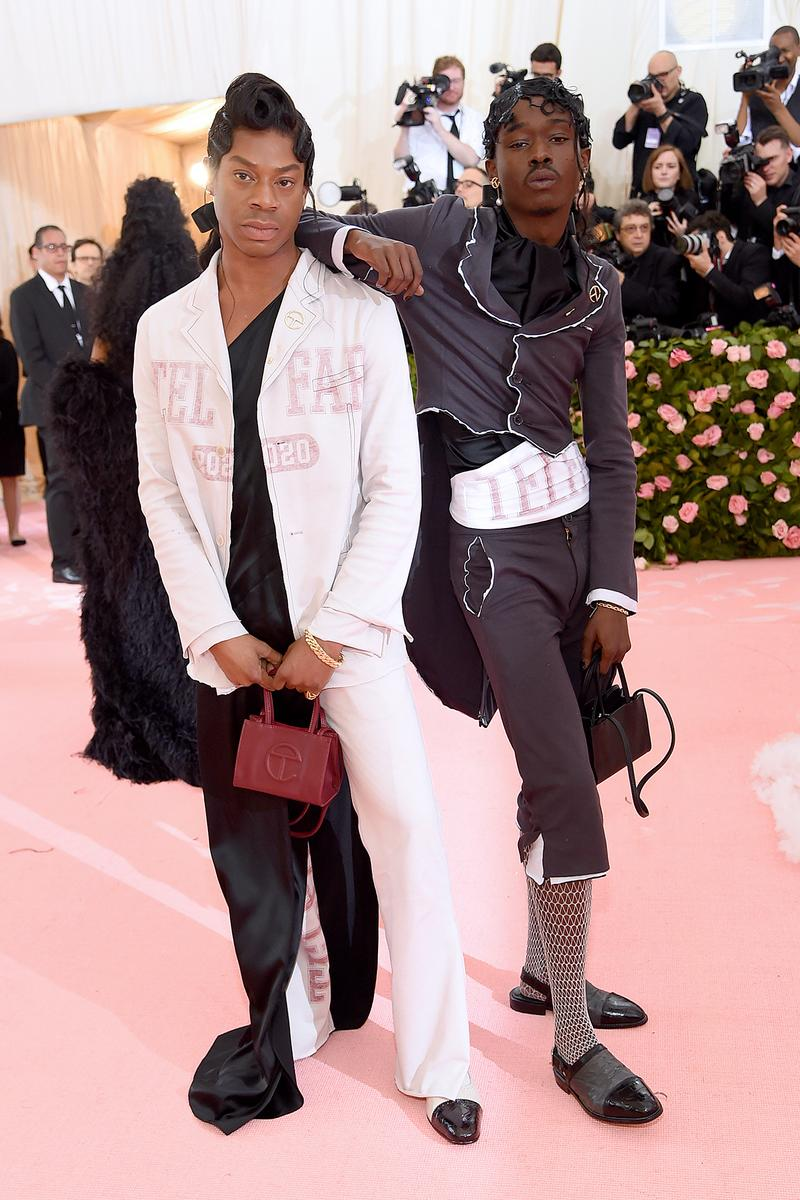 Telfar Clemens Ashton Sanders Met Gala 2019 Red Carpet Camp Notes on Fashion