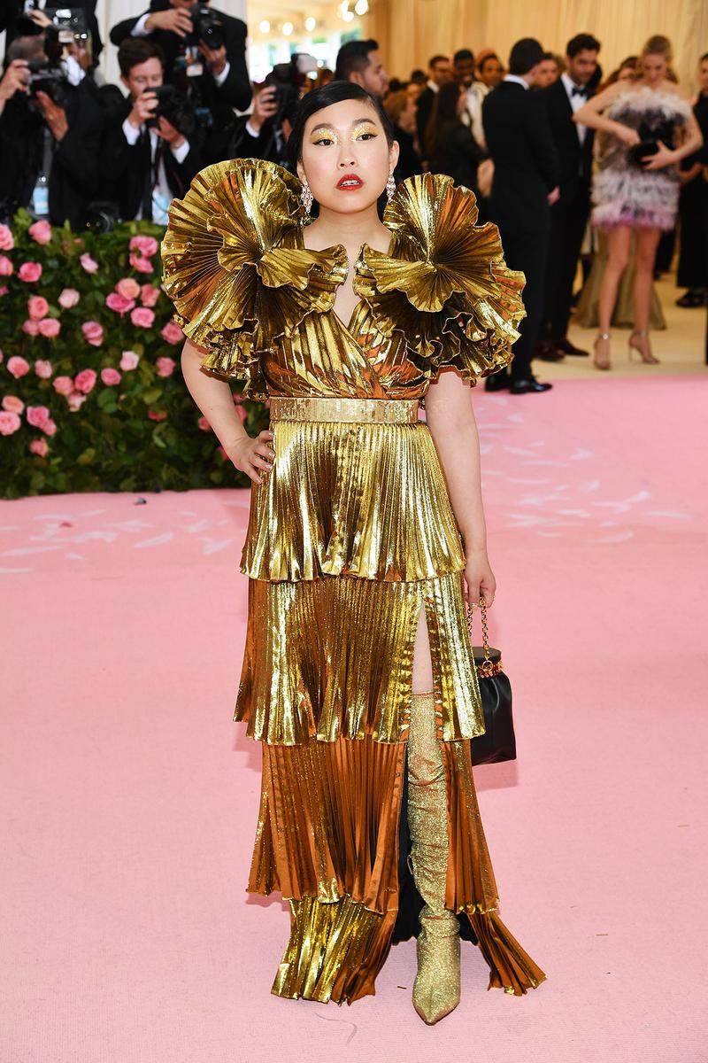 Awkwafina Met Gala 2019 Red Carpet Camp Notes on Fashion