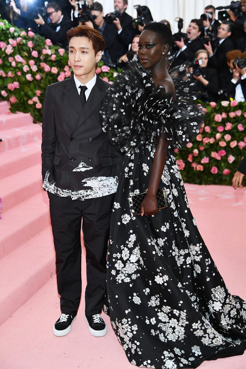 Lay Zhang Adut Akech Met Gala 2019 Red Carpet Camp Notes on Fashion