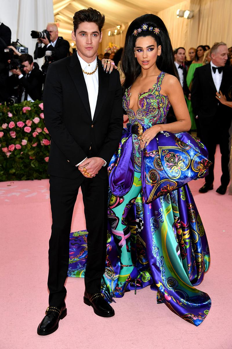Dua Lipa Boyfriend Isaac Carew Met Gala 2019 Red Carpet Camp Notes on Fashion