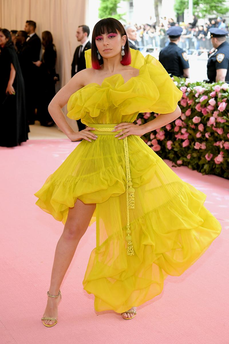 Charli XCX Met Gala 2019 Red Carpet Camp Notes on Fashion