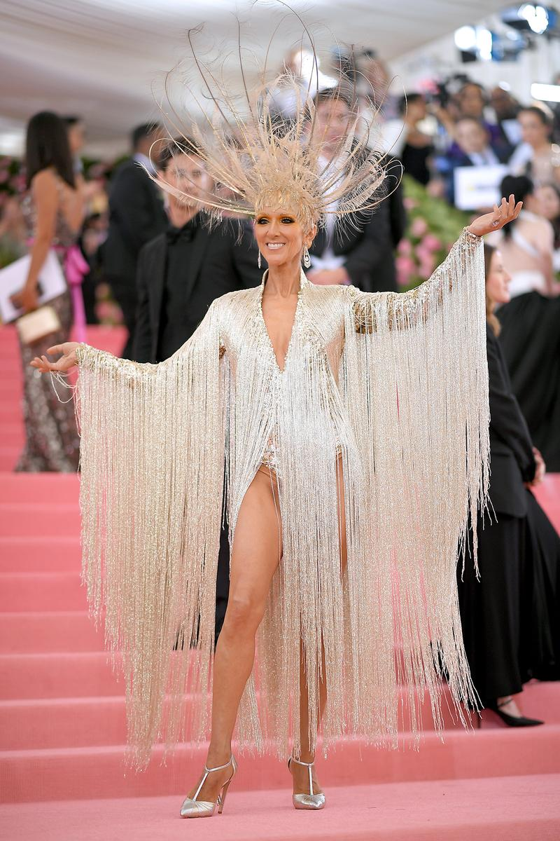 Celine Dion Met Gala 2019 Red Carpet Camp Notes on Fashion