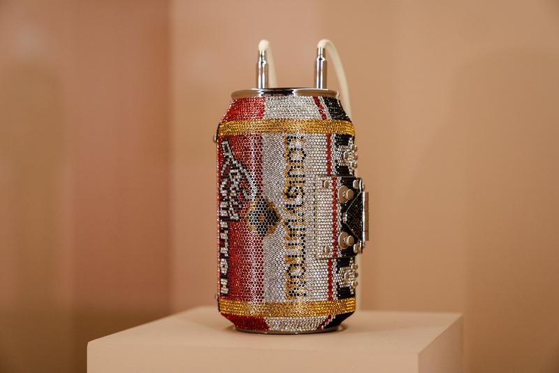 Metropolitan Museum of Art Spring 2019 Camp Notes on Fashion Exhibition Clutch Silver Gold Red