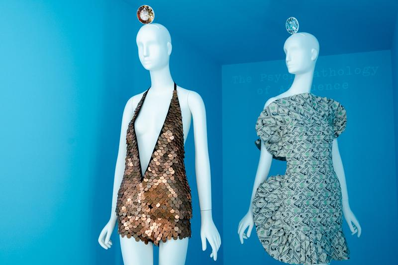 Metropolitan Museum of Art Spring 2019 Camp Notes on Fashion Exhibition Dresses Gold Silver
