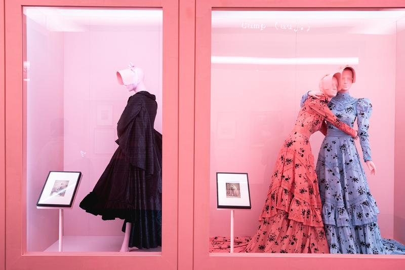 Metropolitan Museum of Art Spring 2019 Camp Notes on Fashion Exhibition Dress Black Pink Blue