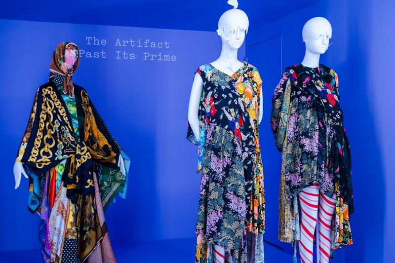 Metropolitan Museum of Art Spring 2019 Camp Notes on Fashion Exhibition Floral Dresses Black Green Yellow