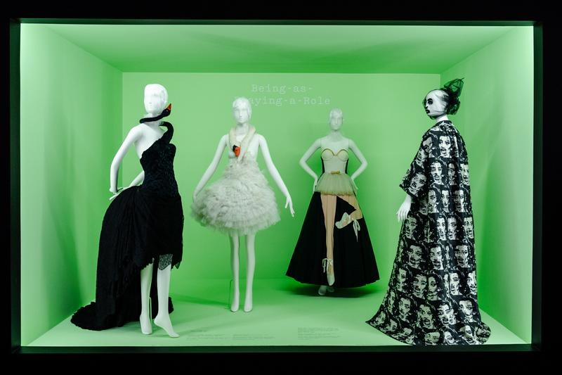 Metropolitan Museum of Art Spring 2019 Camp Notes on Fashion Exhibition Dresses Black Cream White