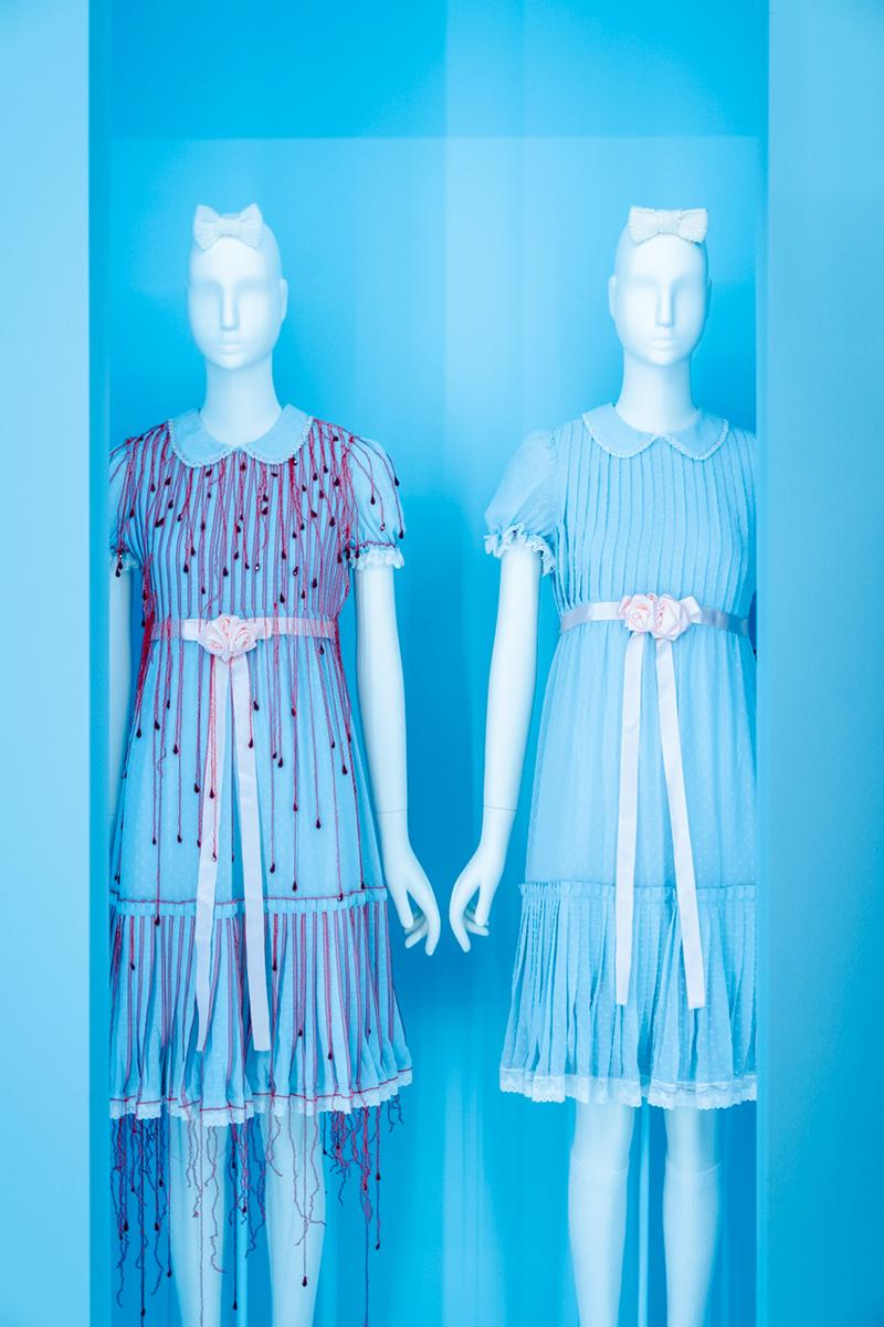 Metropolitan Museum of Art Spring 2019 Camp Notes on Fashion Exhibition Dresses Blue Red