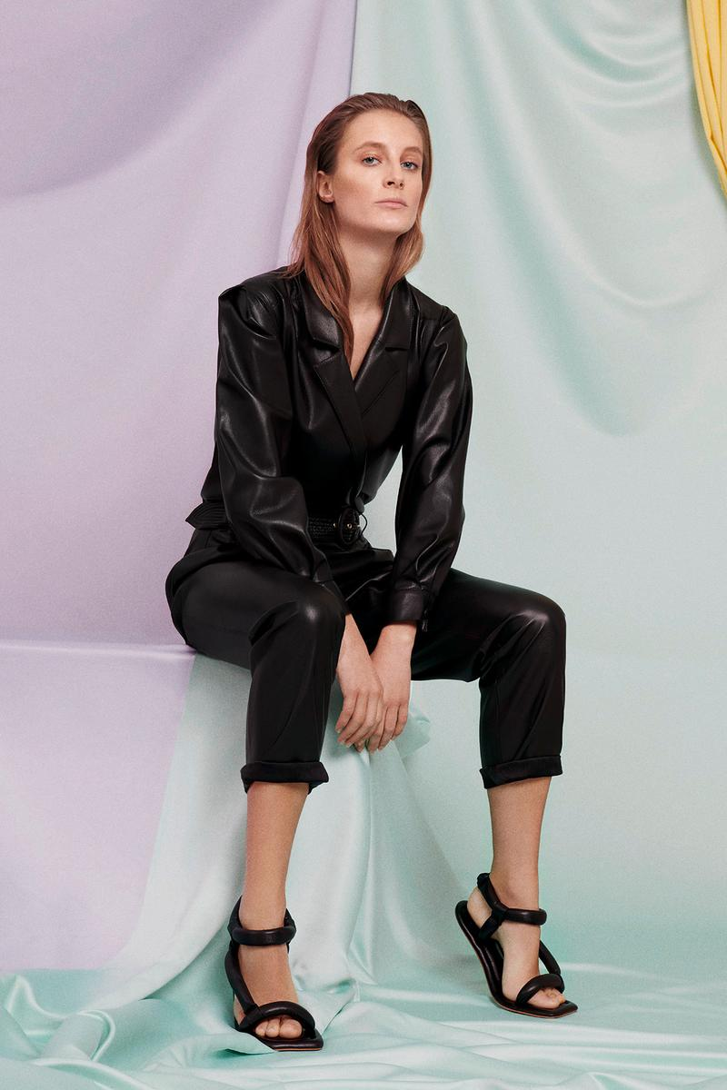 Nanushka x mytheresa.com Capsule Collection Jacket Pants Black