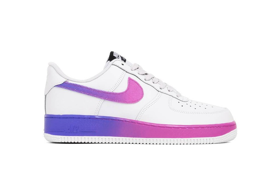 official photos 4bfee f18d9 Peep the Gradient on Nike's Latest Air Force 1 Sneakers