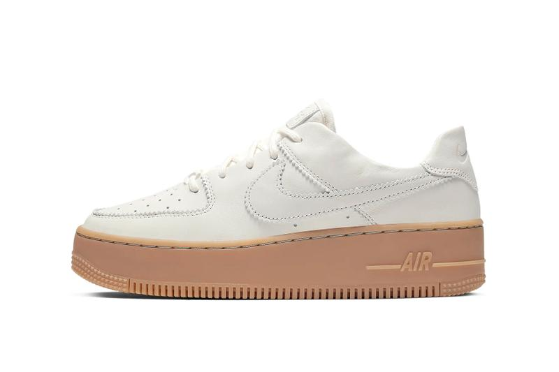Nike Air Force 1 Sage Pale Ivory Gum Light Brown