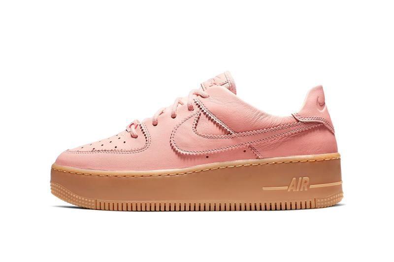 Nike Air Force 1 Sage Washed Coral Gum Light Brown