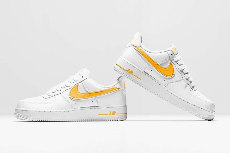 Nike Releases Air Force 1 with 3D Swoosh | HYPEBAE