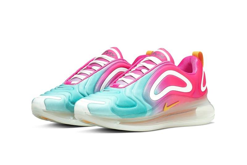 Nike Air Max 720 Teal Tint Laser Fuchsia