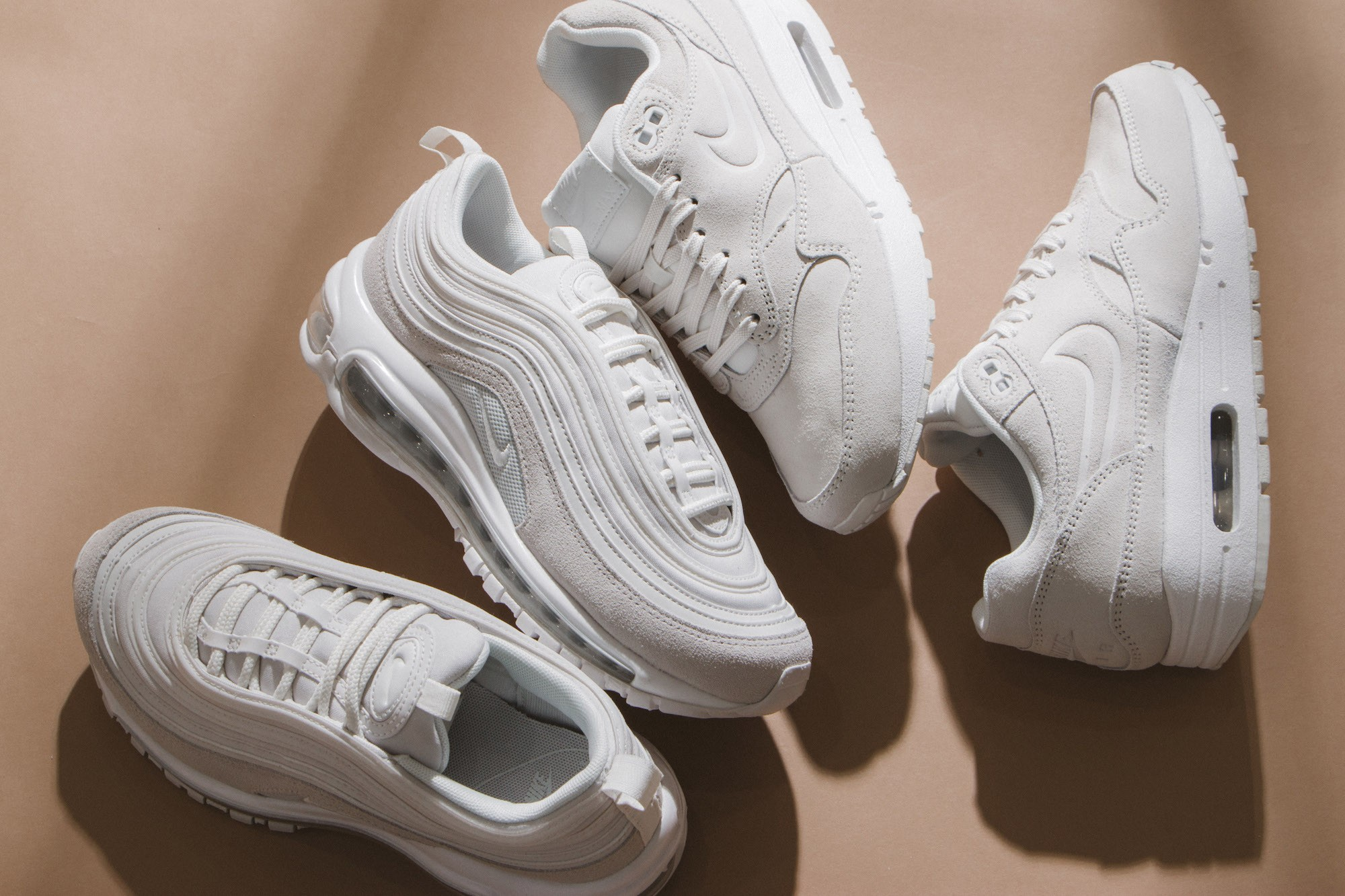 buy popular 3fee5 f0106 Stay Fresh in Nike s Latest All-White Sneakers This Summer